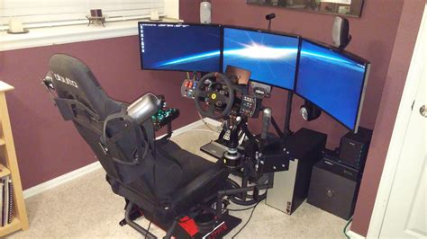 building   immersive elite dangerous simulator