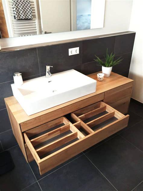 Waschtisch Holz Modern by Waschtischunterschrank Aus Holz Modern Massiv Eiche