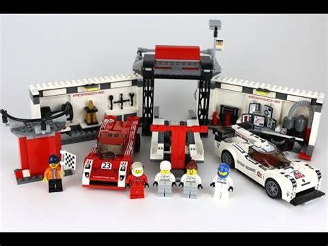 lego speed chions porsche lego speed chions porsche 919 hybrid 917k pit review 75876