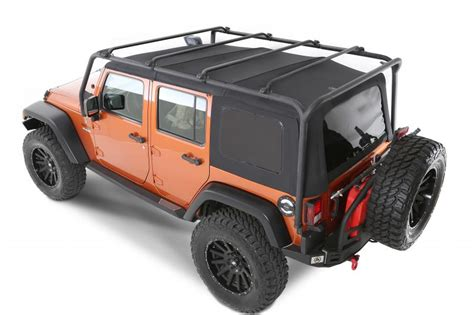 smittybilt roof rack smittybilt 76716 smittybilt src roof rack in textured