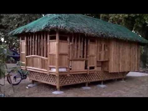 bamboo nipa hut bahay kubo   cost housing