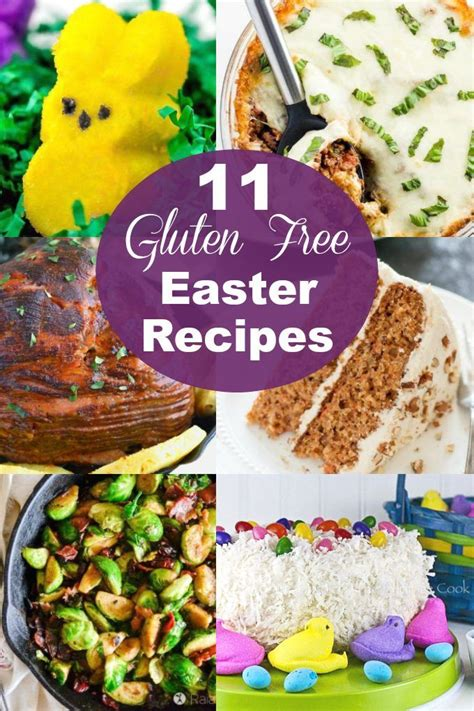Eliminating gluten from your diet doesn't mean sacrificing flavor. 11 Easy Gluten Free Easter Recipes | Easter recipes