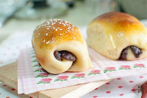 I used a japanese milk bread dough (also known. Hokkaido Milk Rolls