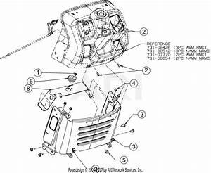 Troy Bilt Horse Xp  13yx79kt011   2016  Parts Diagram For