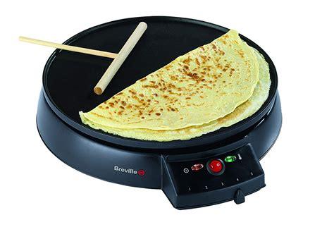 Breville Crepe Pancake Maker Omelette Blinis Fried Eggs