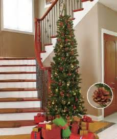 7ft slim pre lit tree christmasshack