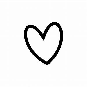 Slant Black Heart Outline clip art via Polyvore ...