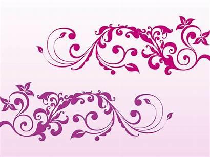 Girly Vector Clip Swirls Graphics Swirl Swirling