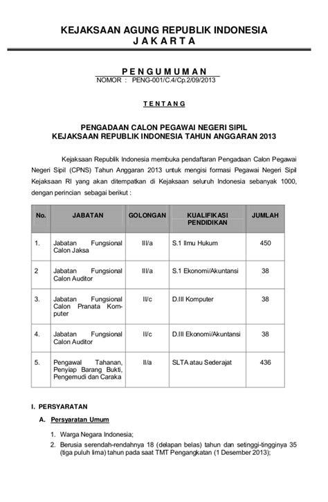 Contoh Surat Lamaran Cpns Kejaksaan 2017 by Contoh Surat Lamaran Kemendikbud Contoh Dr