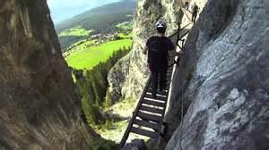 Via Ferrata Suisse by Pinut Via Ferrata Flims Switzerland Youtube