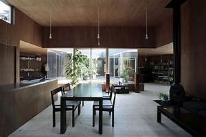 maison design par studio synapse salle a manger arkko With salle manger japonaise