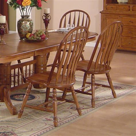 solid oak table and chairs solid oak dining table arrowback chair set by e c i