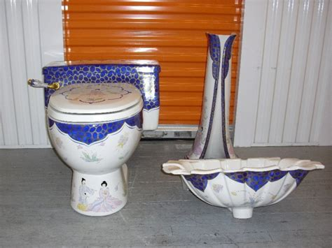 sherle wagner chinoiserie sink sherle wagner blue chinoiserie toilet sink basin and