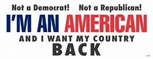 I want my country back anti obama political bumper sticker for Best brand of paint for kitchen cabinets with american flag sticker for car