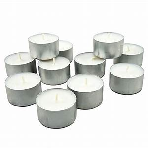 Long burning tealight candles 8 hours white for Kitchen colors with white cabinets with multi tealight candle holders