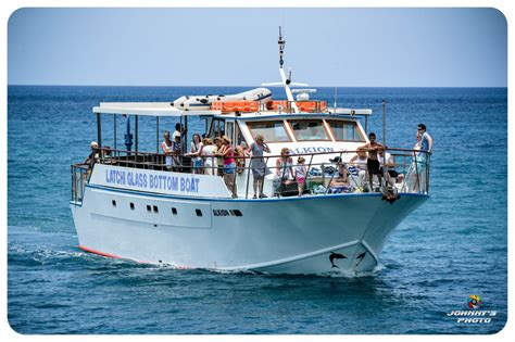 Glass Bottom Boat Vera by Akamas Boat Trips Latchi Mini Cruises Latchi Boat Cruises