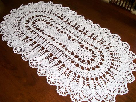 free crochet pineapple table runner patterns table runner new 403 free doily table runner patterns