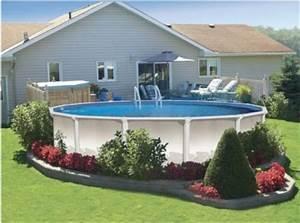 amenagement de piscine hors sol de nombreuses With nice que mettre autour d une piscine 15 fleurir un escalier