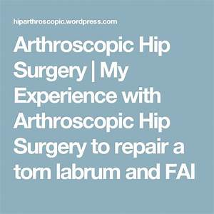 Manual Therapy Hip Labral Tear