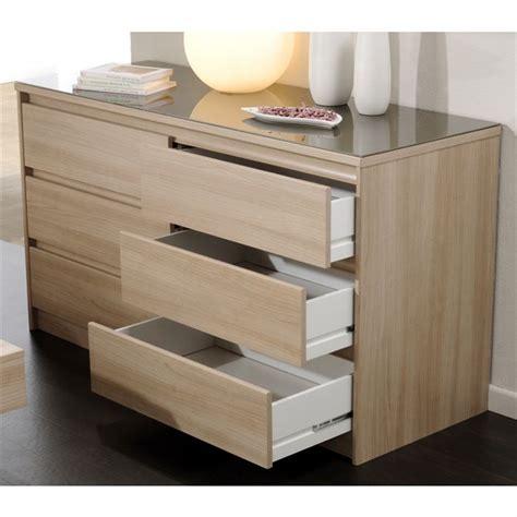 meuble tiroir chambre commode 6 tiroirs achat vente commode de chambre