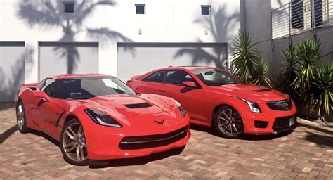 Cadillac With Corvette Engine by Is The Cadillac Ats V Coupe A Four Passenger Corvette