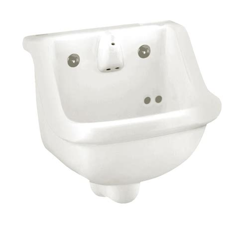 american standard wall hung sink shop american standard white wall mount rectangular