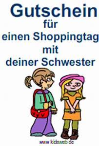 Shopping Gutschein Selber Machen : gutscheine f r kinder im ~ Eleganceandgraceweddings.com Haus und Dekorationen