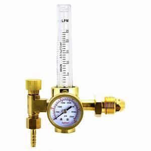 Welding Supplies - Argon Welding Regulator Gas Flow Meter ...