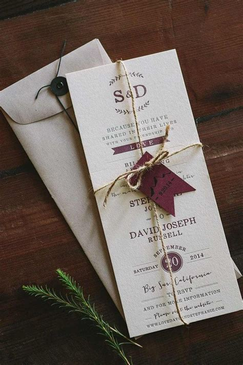 diy wedding invitations 10 unusual ways to do it yourself cards letterpress wedding