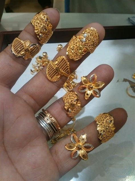 bridal rings indian wedding jewellery gold finger
