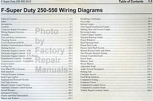 2012 Ford F250 F350 F450 F550 Electrical Wiring Diagrams