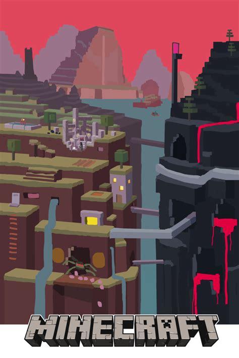 minecraft official poster wondercraft