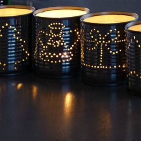 recycled can outdoor luminaries pictures photos and