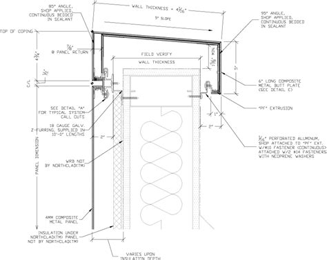 acm details  insulation northclad