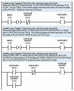 Plc Toggle Logic  U0026 Flip Flops