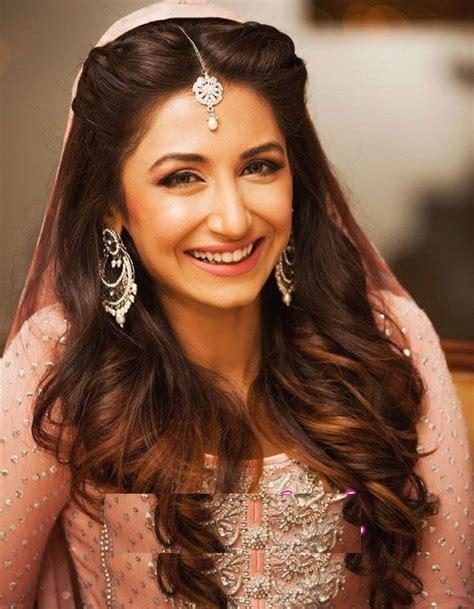 pakistani actress long hair pakistani wedding hairstyles for long hair top pakistan