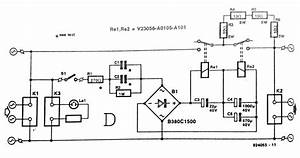 220 V Mains Power On Delay Circuit Diagram