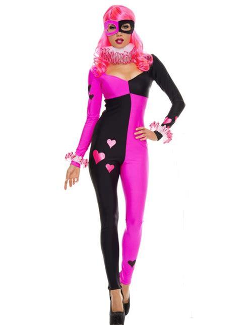 harley quinn jumpsuit costume harley quinn costume catsuit 15112088