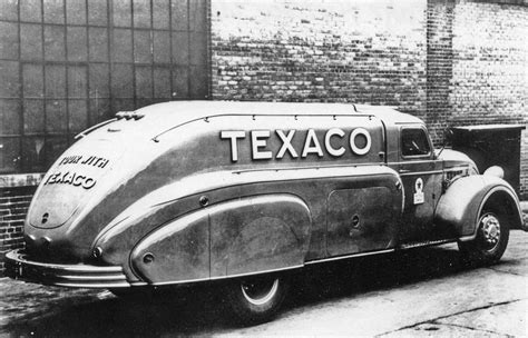 Dodge Airflow Tanker Trucks Streamlined And Noteworthy
