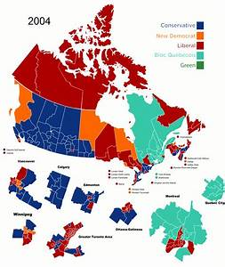 Political shift in Canada between 2004 and 2011 [GIF ...