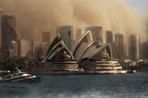 apocalypse landmarks zombie famous would york iconic imagine photoshop sydney london opera designers photoshopped square times ben might apoc
