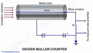 Geiger Muller Counter  Construction  Principle  Working  Plateau Graph And Applications