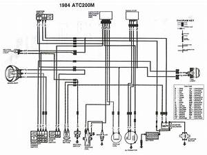 1988 Honda 200 Wiring Diagram