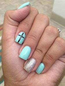 teal nails lydia o 39 s photo beautylish