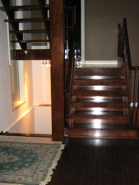 installation d escalier ouvert en u