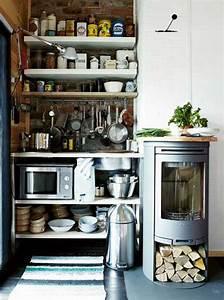 38 Cool Space-Saving Small Kitchen Design Ideas - Amazing