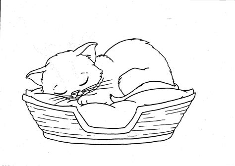 coloring pages  kittens cute drawing kids kitten