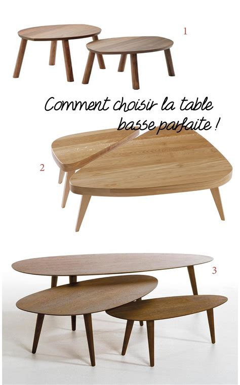 Choisir Une Table Basse Pour Le Salon