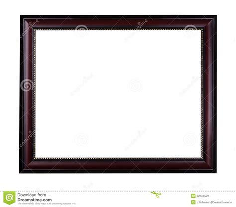 droit au chomage cadre cadre de tableau d acajou en bois image stock image 32244579