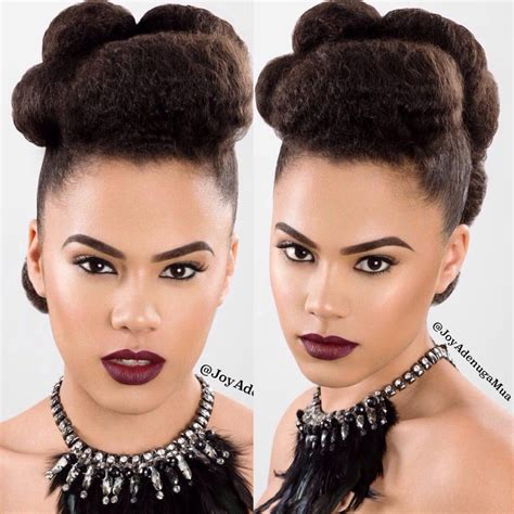 afro hair  ideas  natural wedding hairstyles